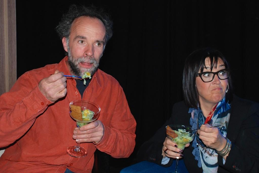 Philip Vermeulen en Sabine Goethals
