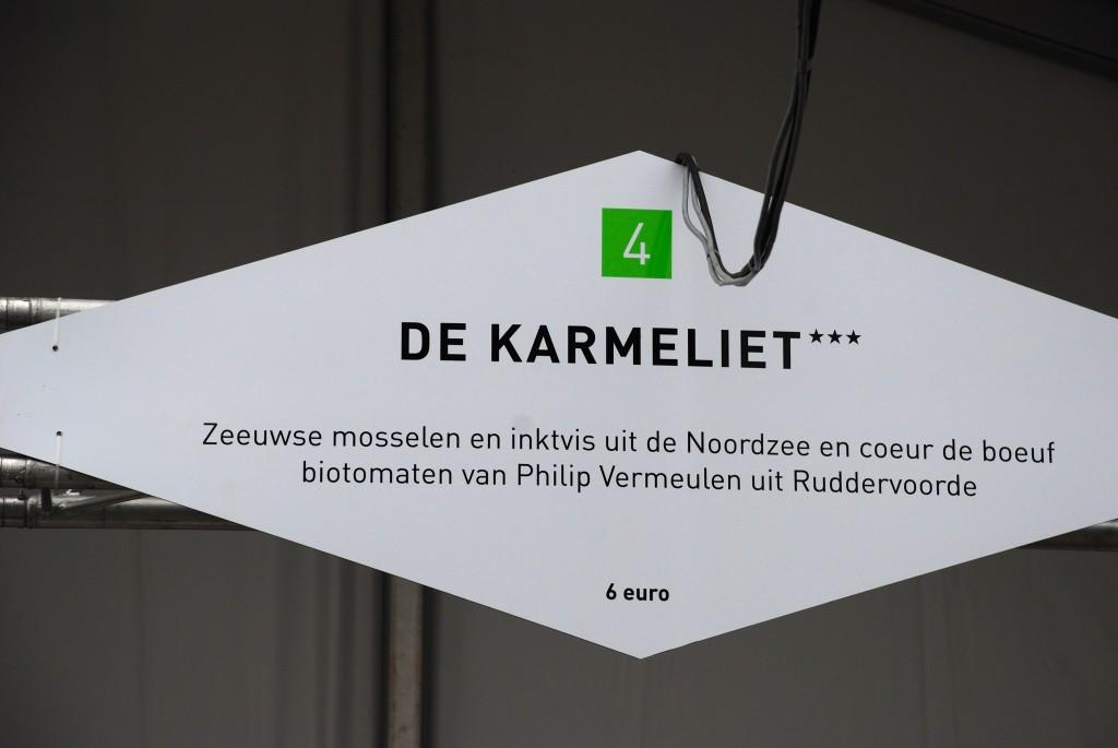met coeur de boeuf biotomaten van Philip Vermeulen uit Ruddervoorde